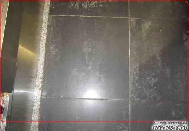 Керамогранит напольный. Чёрный. 50 х 50 см