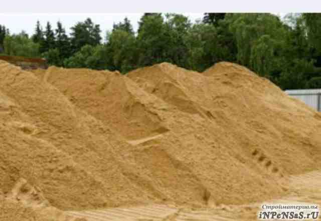 Стройматериалы сыпучие песок