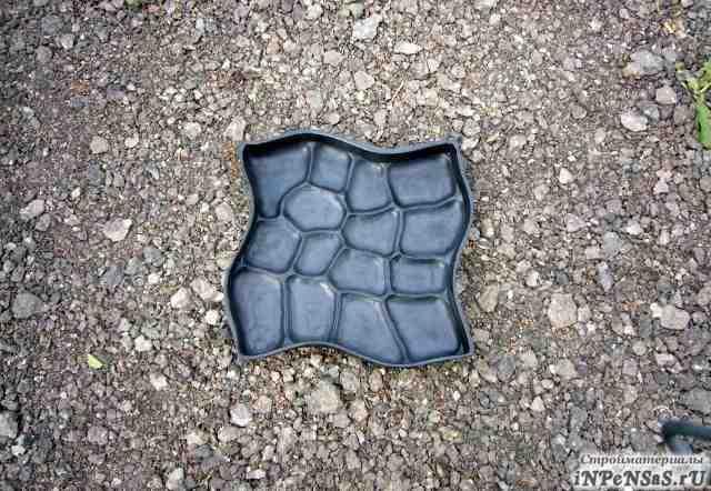 Форма для тротуарной плитки 50х50