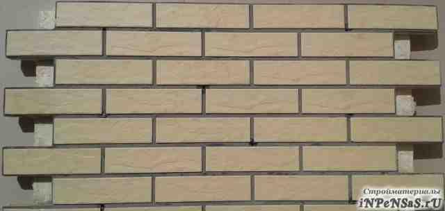 Фасадные термопанели ппу с клинкером