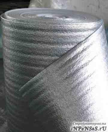 Теплоизоляция из вспененного полиэтилена рулоны