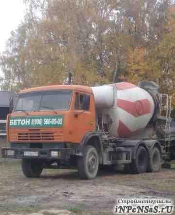 Доcтавка бетона от производителя