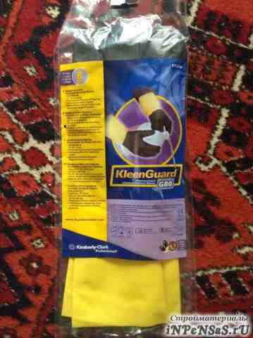 Неопреновые/латексные перчатки для защиты от химич