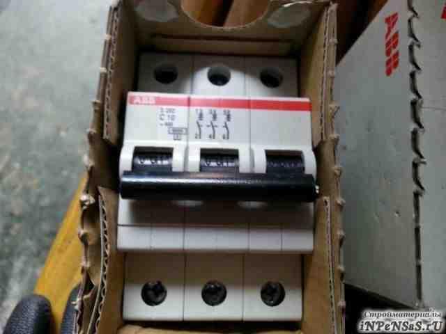 Автоматический выключатель авв s203 c10