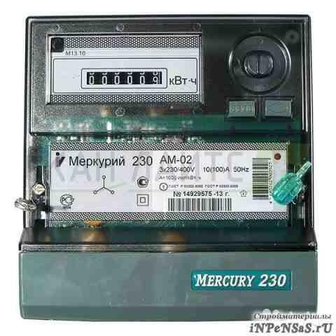 Меркурий 230ам-02 3ф (100) А