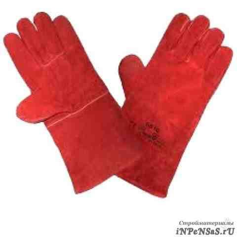 Перчатки спилковые И краги