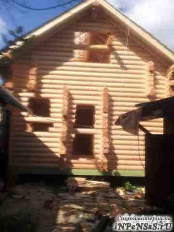 Сруб под дом с парилкой 4.5x7 с крышей