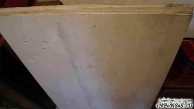 Фанера фк 15мм, влагостойкая, 2 листа 1220х575
