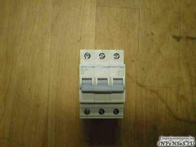 Автомат Hager 3 фазный 63 А
