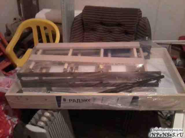 Откидная лестница на чердак