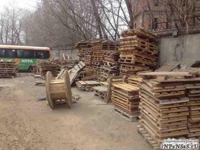 Деревянные поддоны