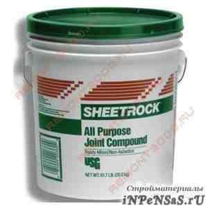 Шпатлевка универсальная sheetrock шитрок 3.5л
