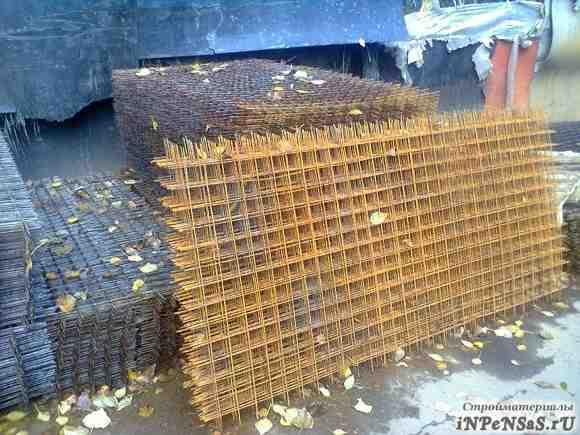 Сетка стальная сварная 100х100