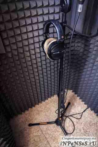 Звукоизоляция (акустический поролон)