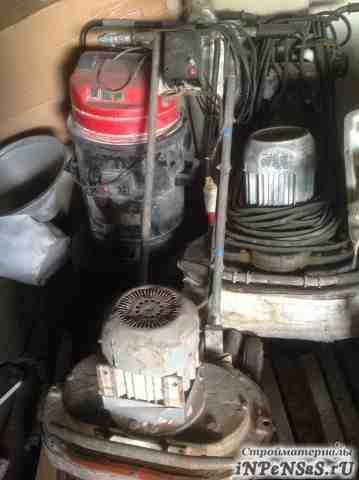Мозаично-шлифовальная машинка, запасной двигатель