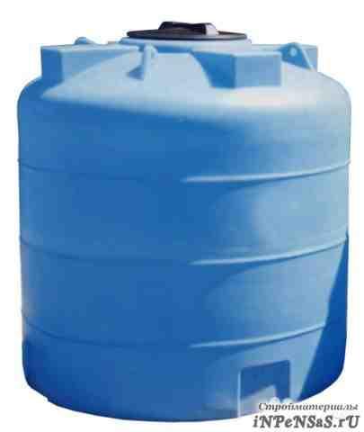 Резервуар для хранения воды или топлива 3 куб. м