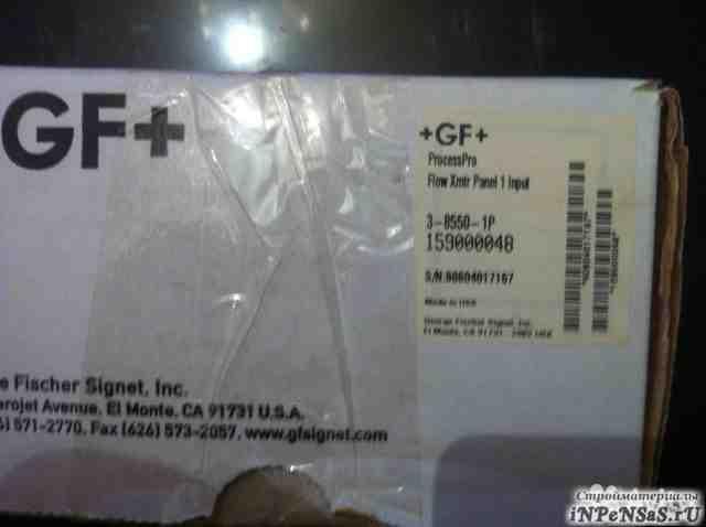 GF + передатчикthe Signet 8550 Flow Transmitter
