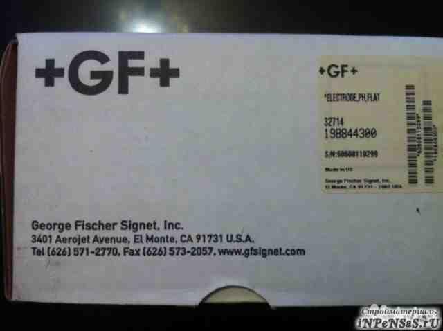 GF+ Type 2714/2716 198844300 pH Electrodes