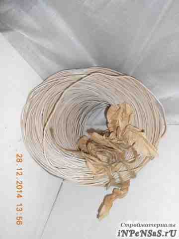 Провод медный 1-но жильный, кабель с 2-ой изоляцие
