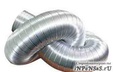 Воздуховоды гибкие алюминиевые (3м)