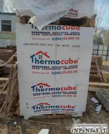 Блоки газобетонные (газосиликатные) Thermocube