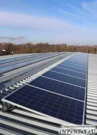 Системы крепеления солнечных модулей на крыше