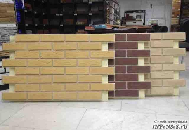 Термопанели фасадные с плиткой