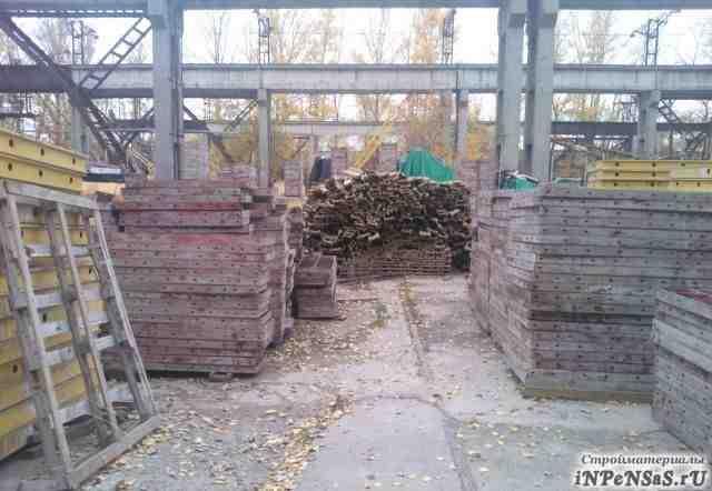 Опалубка стен, перекрытий