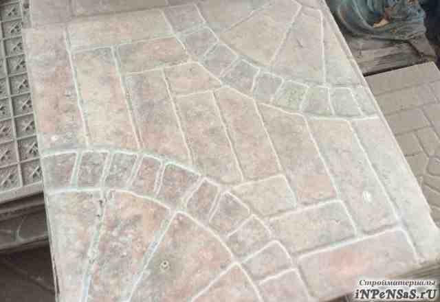 Плитка для тротуаров И керамогранитная