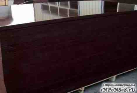 Фанера ламинированная 1220x2440x18 береза 1й сорт