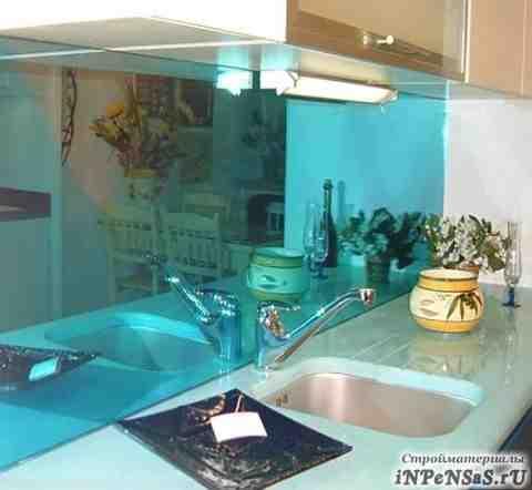 Стеклянные фартуки для кухни, скинали