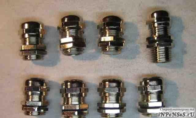 Кабельный ввод М16 металл 8 шт